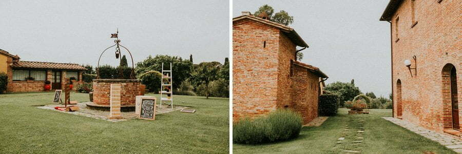 wedding venue il casale del Marchese