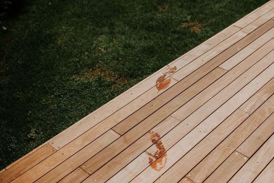 swimming pool footsteps