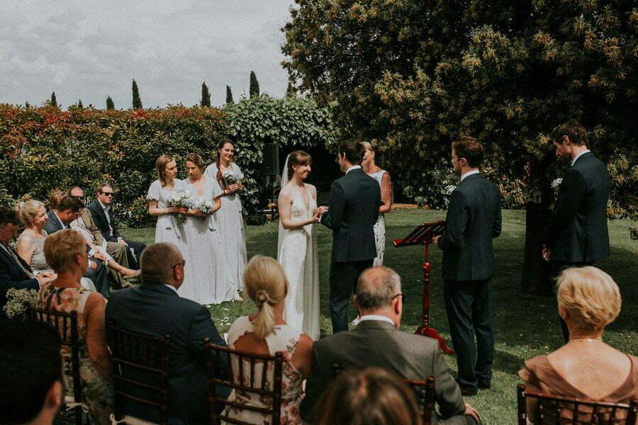 Wedding ceremony in Casale del Marchese
