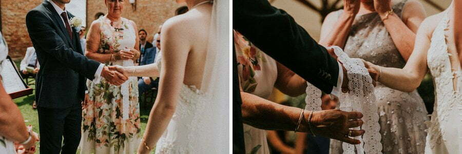 wedding ceremony photos in Tuscany