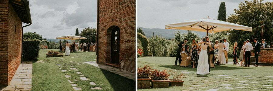 wedding in Tuscany Casale del Marchese