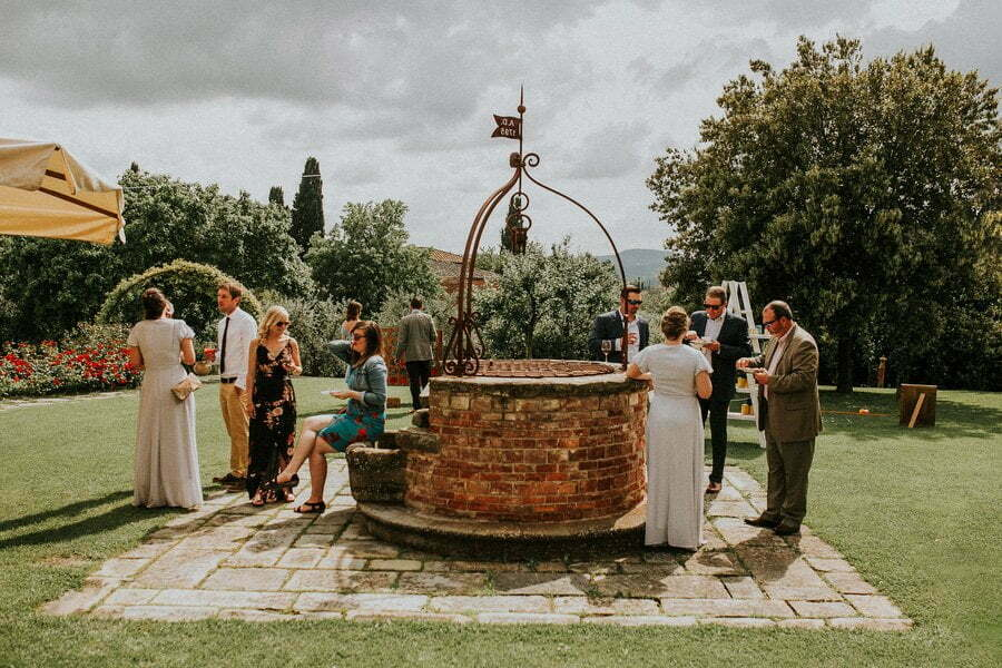 wedding photos in Tuscany Casale del Marchese