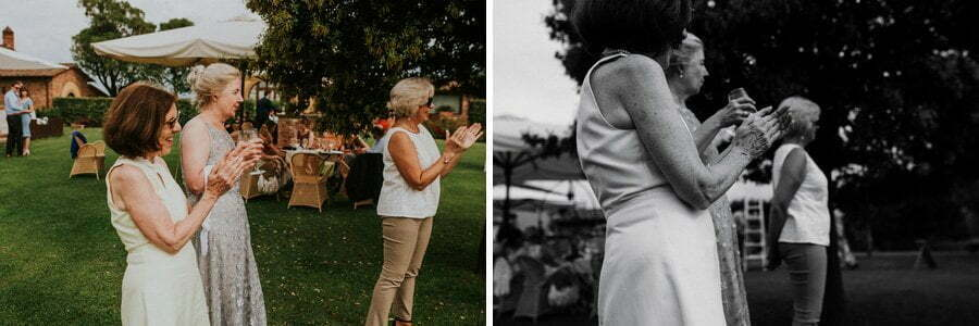 wedding applause