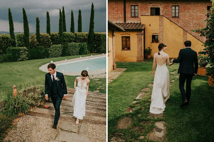 Il casale del marchese wedding in Tuscany