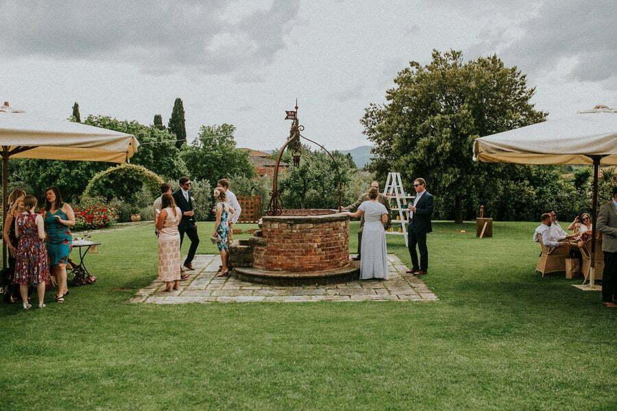 garden wedding in Casale del Marchese