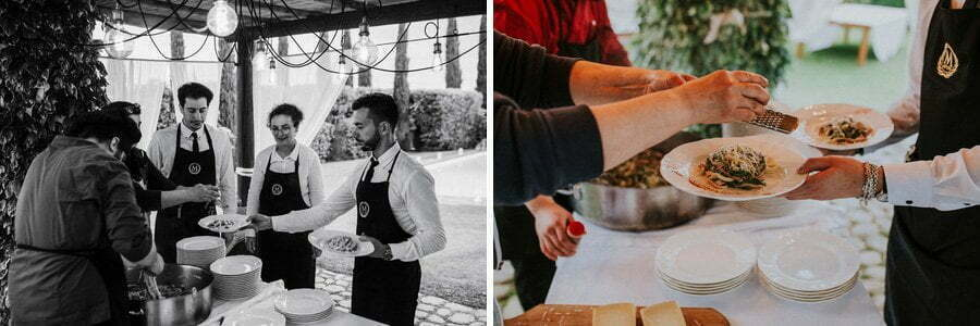 Food and catering in Casale del Marchese