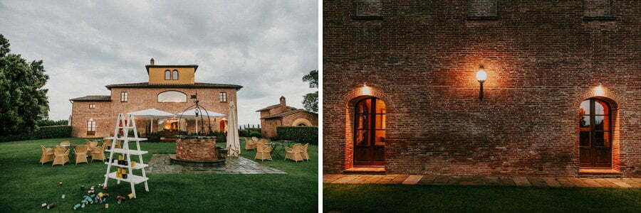 wedding venue in Tuscany Italy