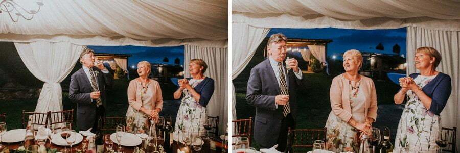 Limoncello at wedding