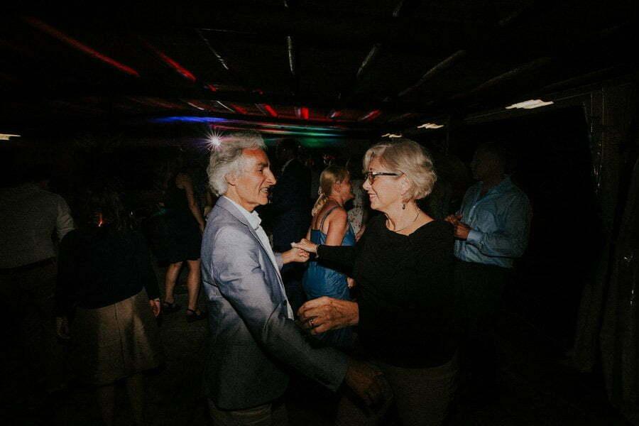 tuscany wedding salsa party